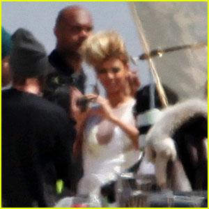 Beyonce: Mojave Music Video Shoot