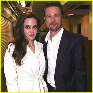 Brad Pitt & Angelina Jolie: 'God of Carnage' Opening Night!