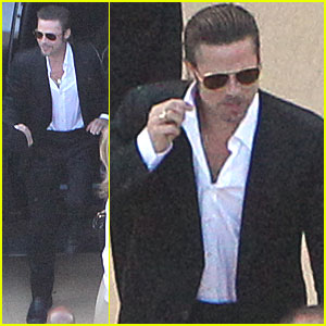 Brad Pitt: Brad Grey's Wedding Guest!