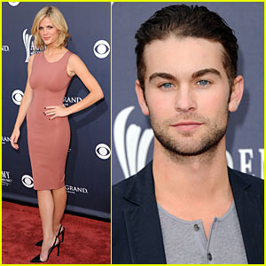 Brooklyn Decker: ACM Awards 2011 with Chace Crawford!