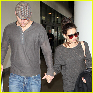 Channing Tatum &#038; Jenna Dewan: Back in Los Angeles!