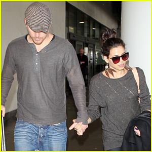 Channing Tatum & Jenna Dewan: Back in Los Angeles!