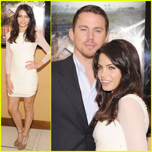 Channing Tatum & Jenna Dewan: 'Earth Made of Glass' Screening!