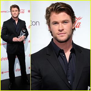 Chris Hemsworth: CinemaCon Awards 2011