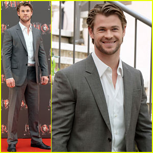 Chris Hemsworth: 'Thor' Photo Call in Rome!