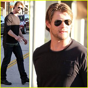 Chris Hemsworth Visits The HFPA