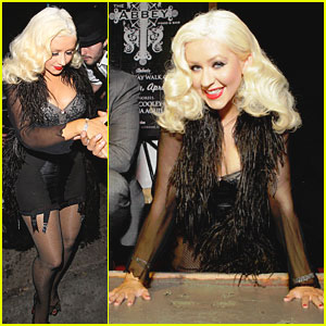 Christina Aguilera: Gay Walk of Fame Honoree!