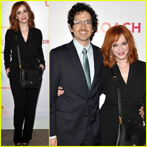Christina Hendricks: Supporting Children with Geoffrey Arend!