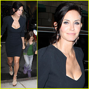 Courteney Cox: Busy In NYC