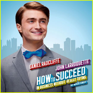 Daniel Radcliffe: 'How to Succeed' Album Cover!