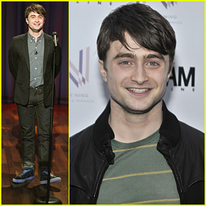 Daniel Radcliffe Tries Stand-Up Comedy For Jimmy Fallon