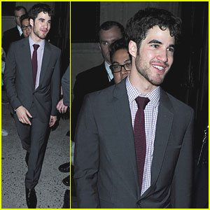 Darren Criss: Oxygen Upfronts in NYC!