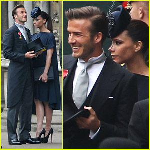David & Victoria Beckham: Ready For The Royal Wedding