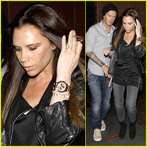 David &#038; Victoria Beckham: Dinner Date