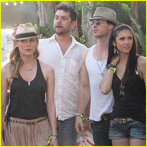 Diane Kruger & Joshua Jackson: Coachella Couple Outing!
