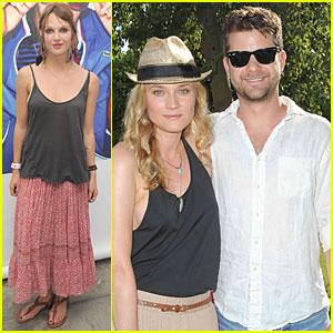 Diane Kruger & Joshua Jackson: Lacoste L!ve Party!