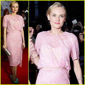 Diane Kruger: Perfect in Pink!