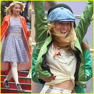 Dianna Agron: 'Glee' Girls Take NYC!