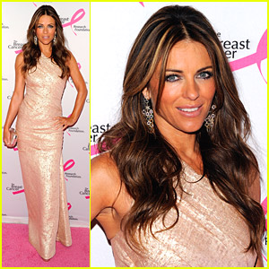 Elizabeth Hurley: 2011 Breast Cancer Research Hot Pink Party