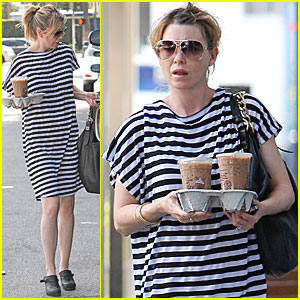 Ellen Pompeo: Coffee Bean for Two!