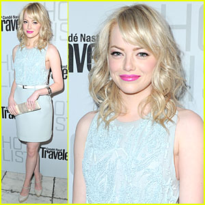 Emma Stone: Conde Nast Traveler Hot List Party!