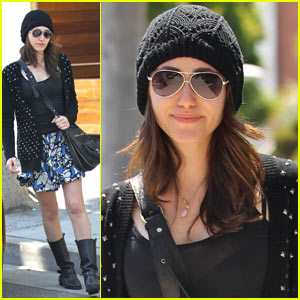 Emmy Rossum: Stylish Strolling