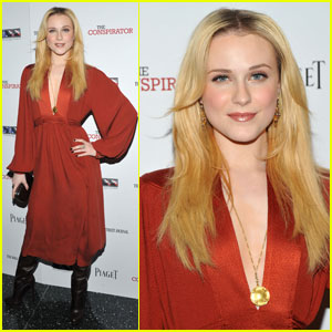 Evan Rachel Wood Brings 'The Conspirator' to NYC