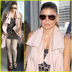 Fergie: Slow Through Security