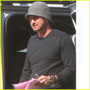 Gerard Butler: 'Playing the Field' in Louisiana!