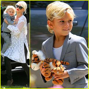 Gwen Stefani: Easter Sunday with Kingston & Zuma!