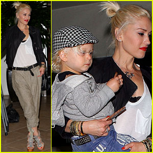 Gwen Stefani: Dinner with the Family!