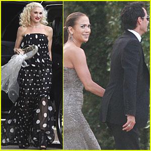 Gwen Stefani: Weekend Wedding Guest!