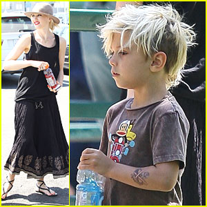 Gwen Stefani: Zoo Trip with Kingston & Zuma!