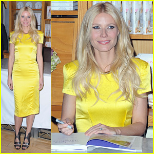 Gwyneth Paltrow: 'My Father's Daughter' Book Signing!