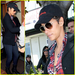 Halle Berry: Angelini Osteria with Olivier Martinez