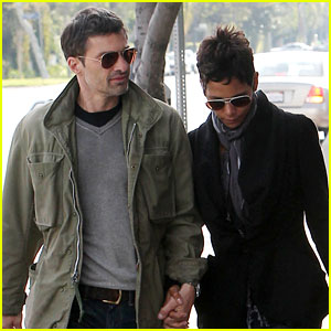 Halle Berry & Olivier Martinez: Sunday Brunch!