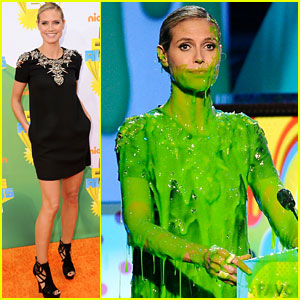 Heidi Klum - KCA 2011 Orange Carpet