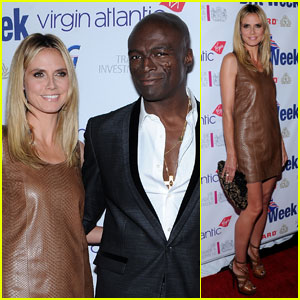 Heidi Klum & Seal: BritWeek Gala Benefit Dinner