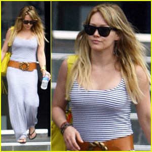 Hilary Duff: Afternoon Doctor Visit