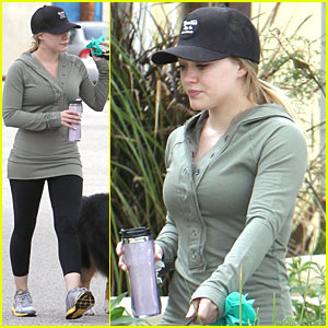 Hilary Duff & Haylie: Dog Day Afternoon