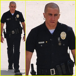 Jake Gyllenhaal: Shaved Head for 'End of Watch'