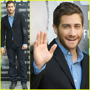 Jake Gyllenhaal: 'Source Code' Photo Call in Madrid