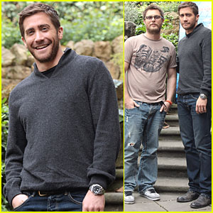 Jake Gyllenhaal: 'Source Code' in Rome!