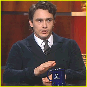 James Franco: 'Colbert Report' Interview!