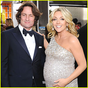 Jane Krakowski & Robert Godley Welcome Baby Boy