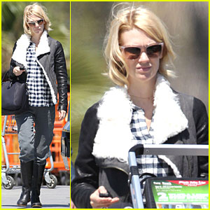 January Jones: Home Depot Run!