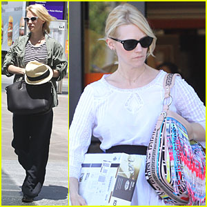 January Jones: Fixture Shopping at Home Depot