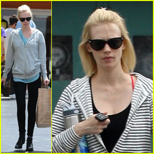 January Jones: Emmy Faceoff with Elisabeth Moss?