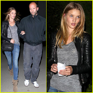 Rosie Huntington-Whiteley & Jason Statham: Prince Concert!