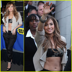 Jennifer Lopez: BlackBerry PlayBook & LOVE? Launch!